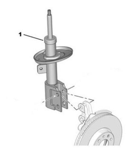 Amortiguador Delantero Original Citroen