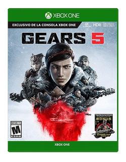 Juegos Xbox One Gears 5 Fisico Terminator Nuevo Sellado /u