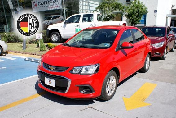 Chevrolet Sonic Lt Rojo 2017