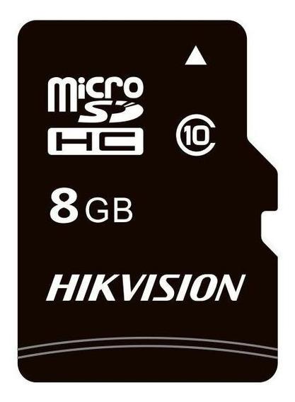 Kit 5 Cartões Memória Micro Sd Hikvision 8gb C/ Adpt Class10