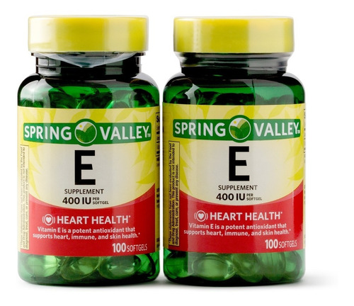 Vitamina E 400iu Americana Pack X2 - Unidad a $175