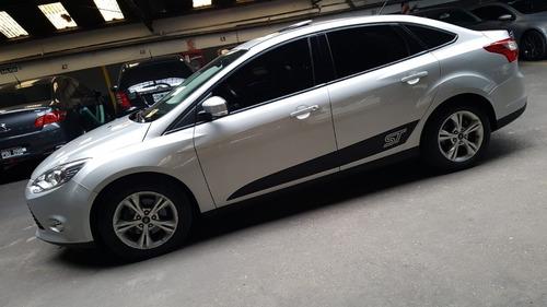 Imagen 1 de 15 de Ford Focus Iii 2014 2.0 Sedan Se Plus At6 Automatico Gris