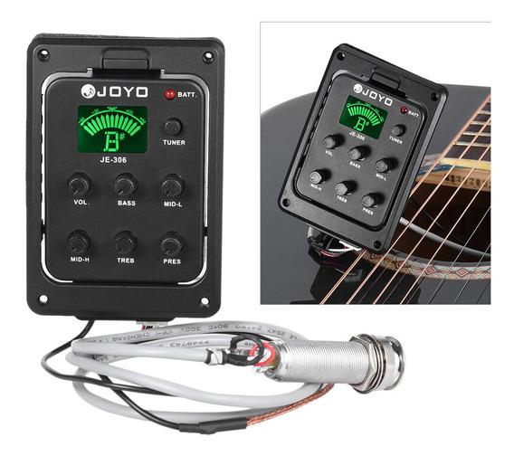 Jyo Je-306 5 Bandas Eq Equalizador Acústico Piezo Guitarra A