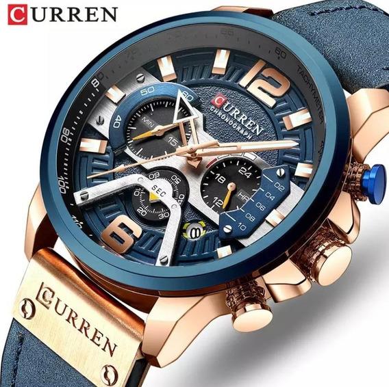 Relogio Curren 8329 + Smart Bracelete M3
