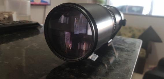 Lente Tokina Af400 400mm 1:5.6 72mm Japan - Comp. Com Nikon