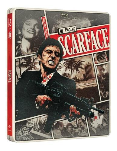 Caracortada - 1983 - Steelbook - Blu-ray + Dvd + Digital Cop