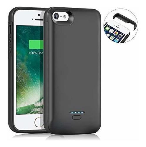 Funda De Bateria Aedlyk Para iPhone 5 5s Se 4000mah Funda De