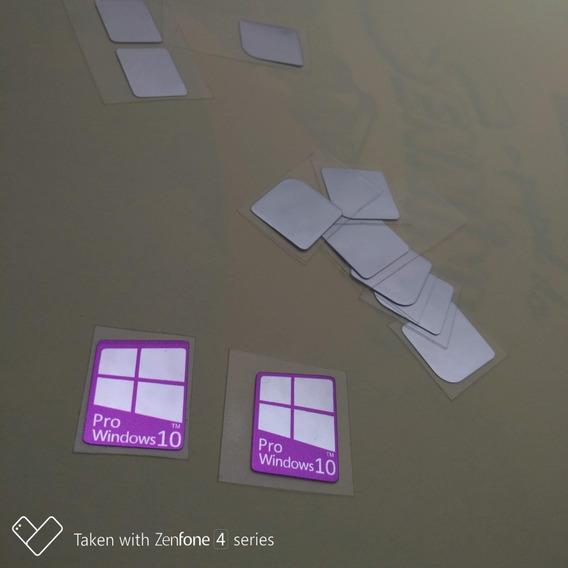 Adesivo Selo Windows 10 Pro ( 8 Uni ) Frete Gratis