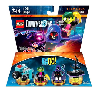 Lego Dimensions Teen Titans Go Team Pack 71255 Ps3 Ps4 Xbox