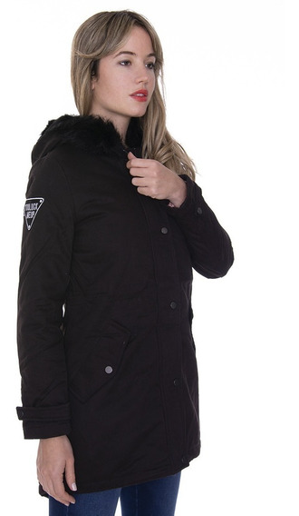 Parka Pink Con Capucha - Kout Mujer