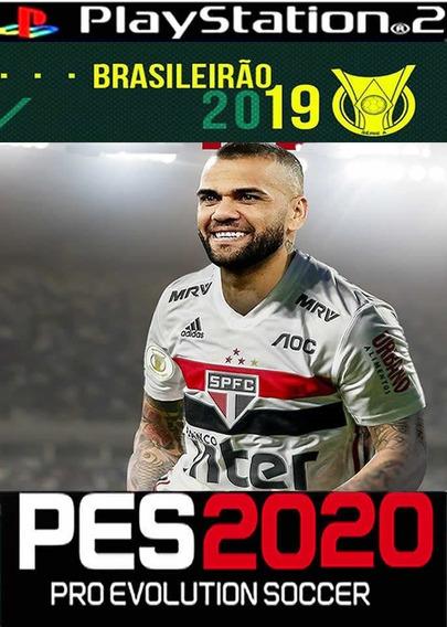 Pes 2019 Brasileirão 100%atualizado ,jogos Ps2, Julho