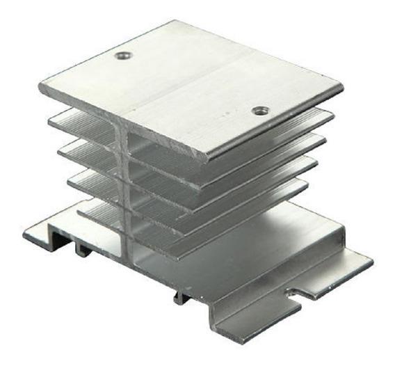 Dissipador Calor Para Rele De Estado Solido Ssr Aluminio