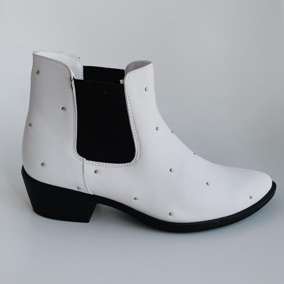 Zapatos - Botines Blancos - Deboga Shoes