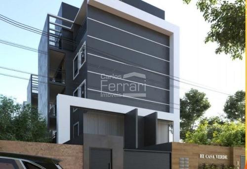 Apartamento Novo - Torre Única, Com 40,48 M2, 2 Dormitórios Na Região Da Casa Verde - Cf33098