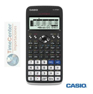 Calculadora Científica Casio Fx570lax 553 Funcione,classwiz