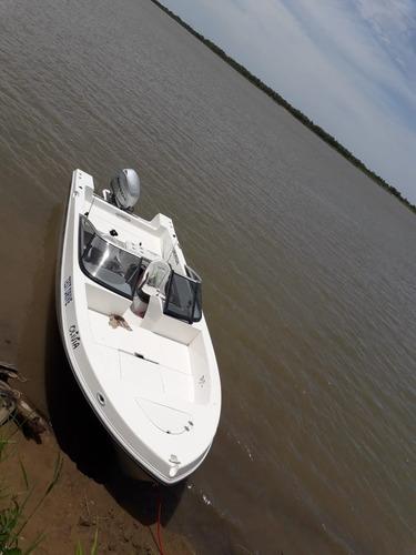 Lancha 630 Open Equipada Ideal Pesca Paseo Deporte Nautico