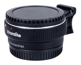 Commlite Enfoque Automático Adaptador De Montura Ef-nex Para