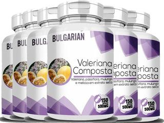 Valeriana Composta Kit 6 Potes 900cap 500mg Ft Gratis