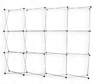 Banner Stand Dispay Muro Expandible Portatil De 2.25x2.25