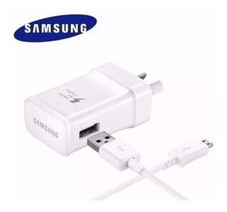 Cargador Samsung Original Carga Rápida Fast Charge Micro Usb