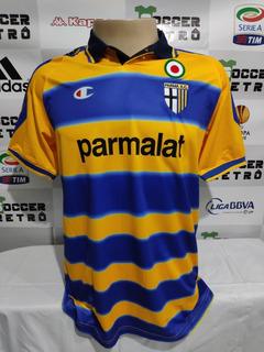 Camisa Parma 1999-00 Crespo 9 Serie A À P/ Entrega