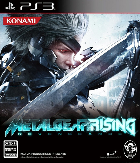 Metal Gear Rising: Revengeance Ps3 Original