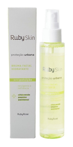 Bruma Facial Hidratante Proteção Urbana Ruby Rose