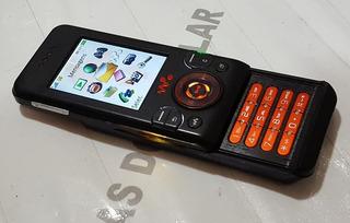 Celular Sony Ericsson W580 I Slaid Leds Camaleão Preto