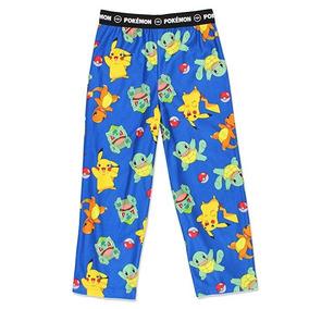 Pantalón Pijama Pokemon De Franela Flannel