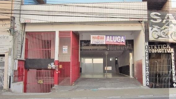 Salão Comercial No Centro, 435m² Com 3 Banheiros - 980