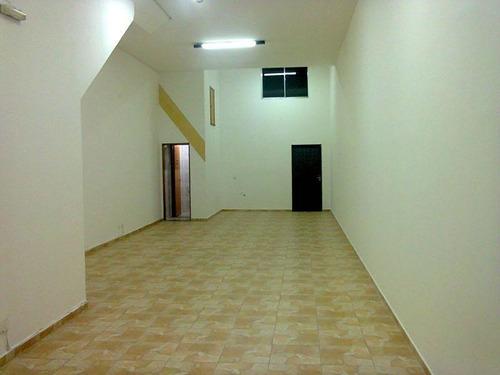 Salão Para Alugar, 85 M² Por R$ 3.300,00/mês - Vila Augusta - Guarulhos/sp - Sl0025