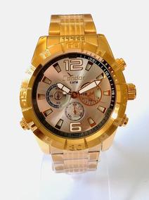Relógio Masculino Dourado Condor C0vd54aw/4k