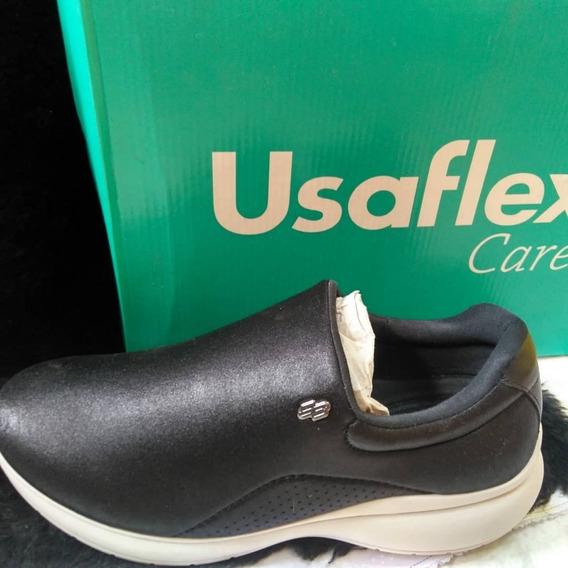 Tênis Feminino Usaflex Care Diabetes Lançamento! Ab6401db