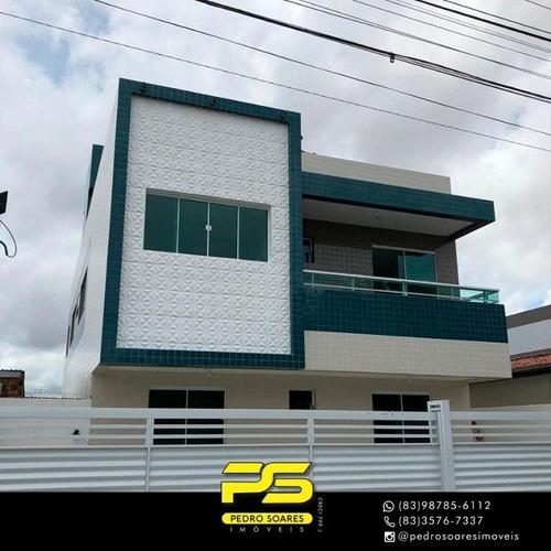Apartamento Com 2 Dormitórios À Venda, 45 M² Por R$ 135.000 - Mangabeira - João Pessoa/pb - Ap3034