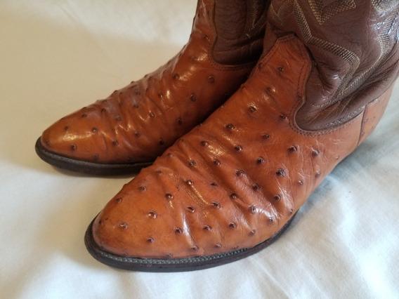 Botas Texanas Nocona Boots U.s.a Cuero Us 10.5 D - Eur 43.5