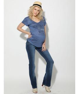 Jean Oxford Para Embarazada-diseño Urbano-