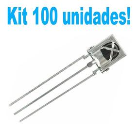 100 Unidades Tl1838 Receptor Infravermelho Arduino Vs1838b