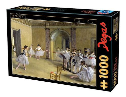 Rompecabezas 1000 Piezas: Degas, Clase De Danza En La Opera