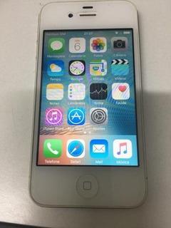 iPhone 4s Seminovo, Ótima Qualidade Com Tela Trincada