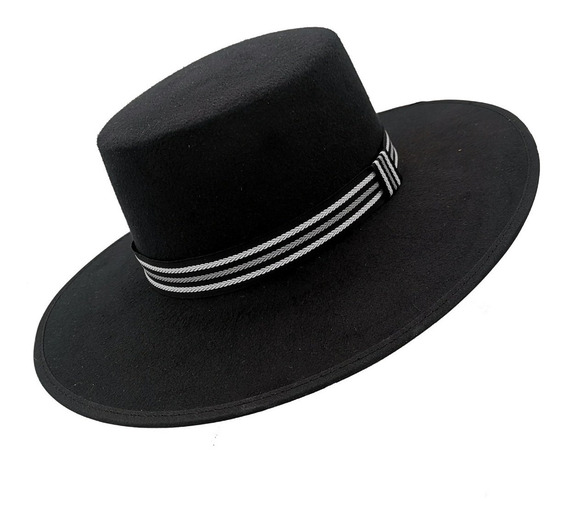 Sombrero Cordobes Hipster Unisex Vintage Hombre Mujer