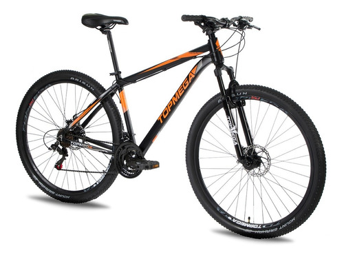 Imagen 1 de 8 de Bicicleta Mtb Topmega Regal R29 21v Aluminio Freno A Disco P