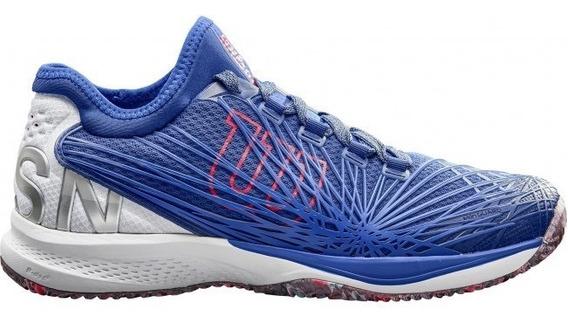 Tênis Wilson Kaos 2.0 Sft Clay Court - Azul/branco