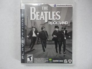 Rockband The Beatles Ps3 Disco Físico Completo!!!