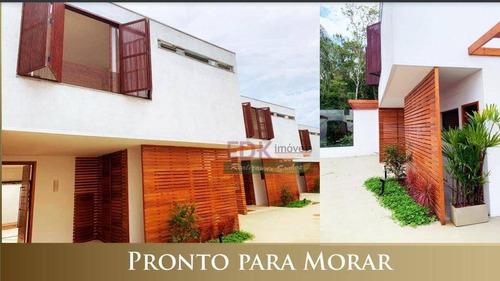 Imagem 1 de 5 de Casa Com 3 Suítes À Venda, 227 M² Por R$ 1.915.000 - Camburi - São Sebastião/sp - Ca5444