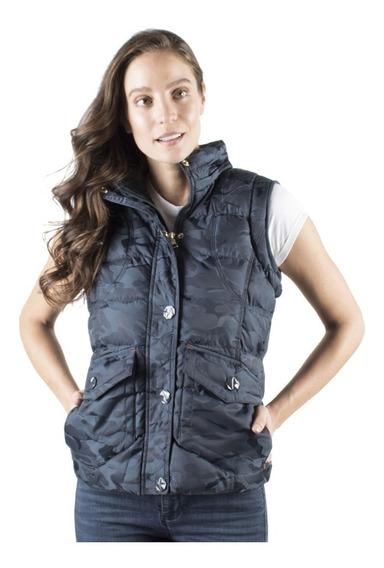 Chaleco Mujer Greenlander Camuflado Vpol6402 Forro Suave