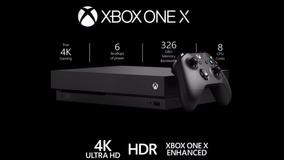 Xbox One X 4k 1tb / Nacional + 1 Ano De Garantia + Nf