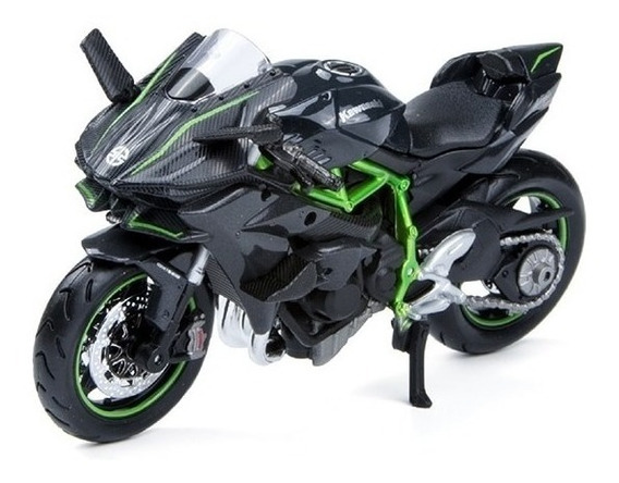 Miniatura Moto Kawasaki Ninja H2-r Maisto Escala 1:18 Sport