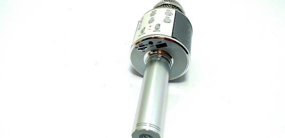 Microfone Sem Fio Bluetooth Com Alto Falante Embutido Ws-858