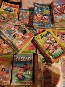 Lote 50 Hq Cebolinha,cascão,magali,ronaldinho A Escolher!!!