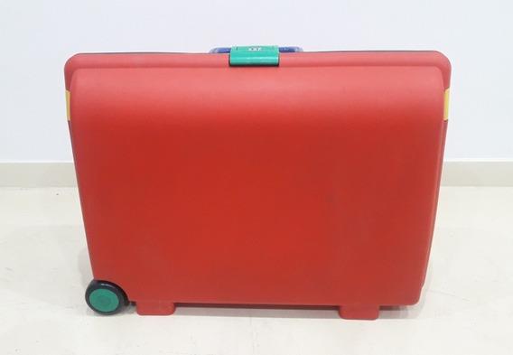 Valija De Plástico Rígida 2 Ruedas - Medidas: 57 X 35 X 20 -